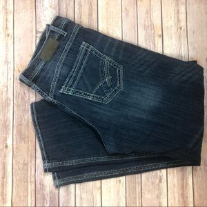 BKE Mens Jeans Size 38L Seth Medium Wash Boot Cut